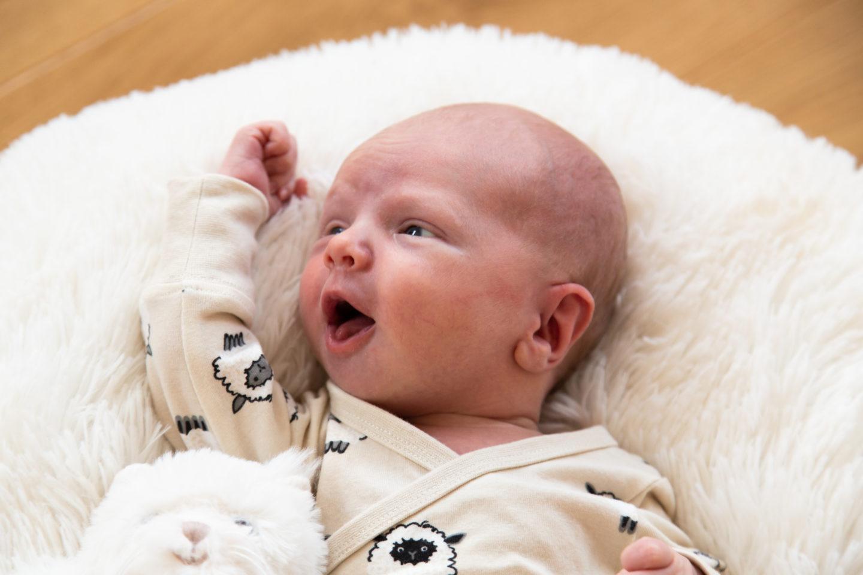 Lapse esimese kuu pildistamine: jee!