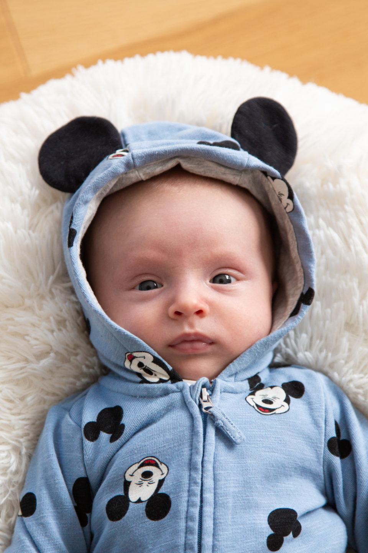 Lapse teise kuu pildistamine - väike miki hiir