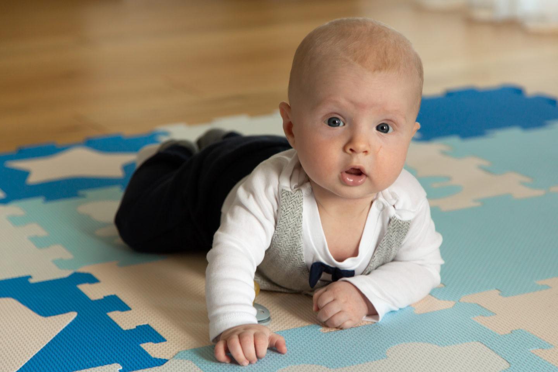 Lapse neljas kuu ehk käime trennides 😃