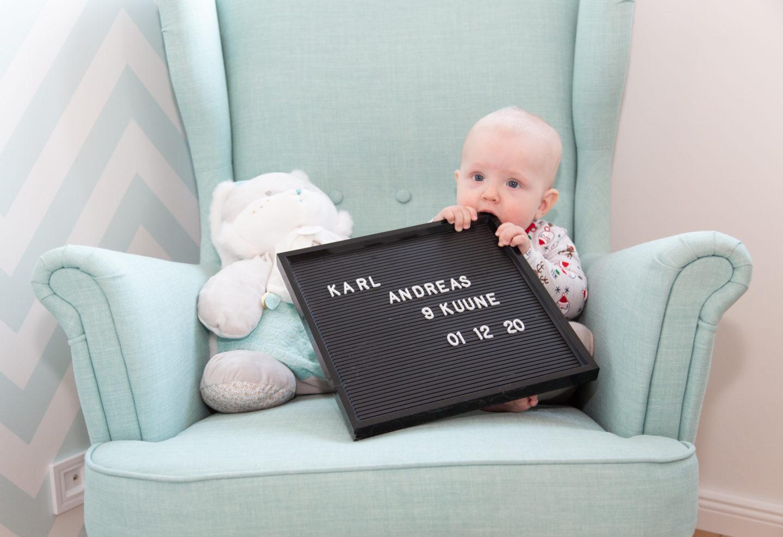Lapse üheksanda kuu pildistamine